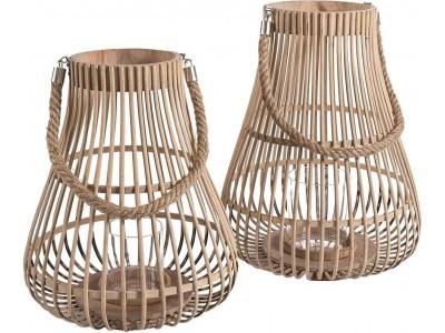 Lampion Bambusowy Gruszka A
