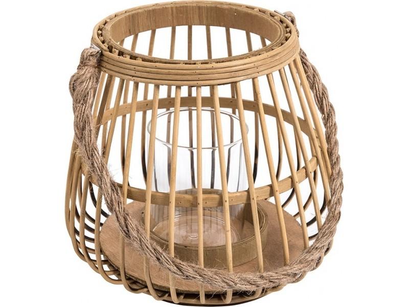 Lampion Belldeco bambusowy Garden pękaty