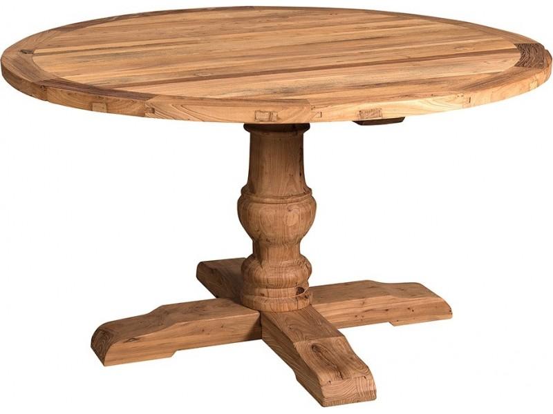 Stół Drewniany Okrągły London