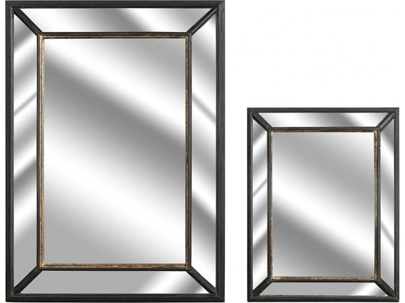 Nero gold lustro prostokąt 2