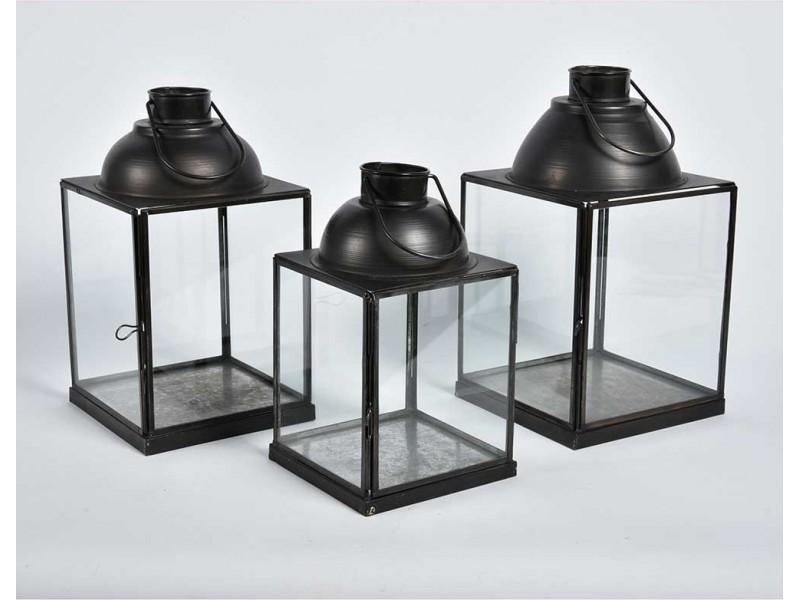 Lampion Szklany Nero 1C