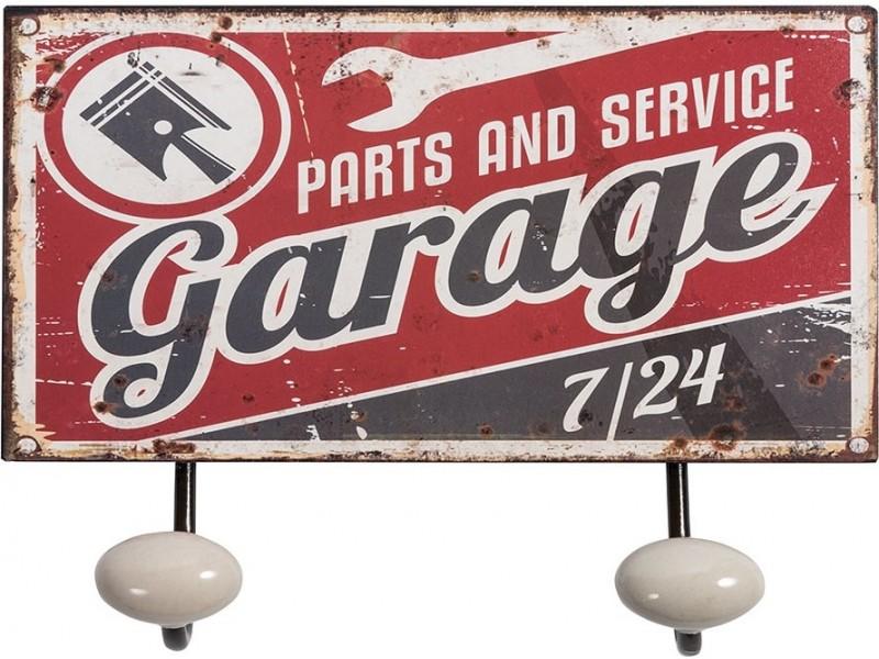 Retro Wieszak 2 Garage kmpl.2szt