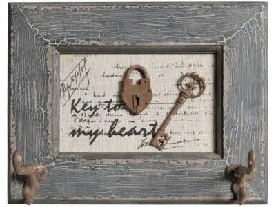 Retro Wieszak z kluczem