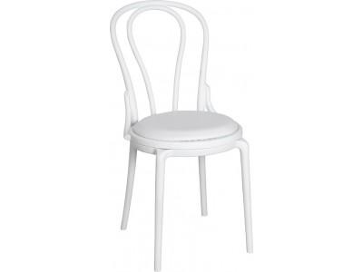 Krzesło Spring Białe