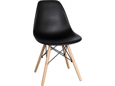 Spring Krzesło PD 1 czarne min. 4 sztuki