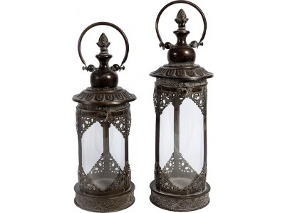 Lampion Metalowy Orientalny Vintage 2