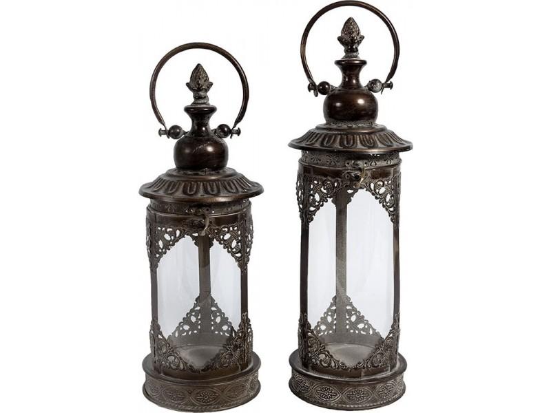 Lampion Belldeco Metalowy Orientalny Vintage 2