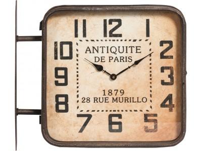 Vintage Zegar De Paris dwustronny