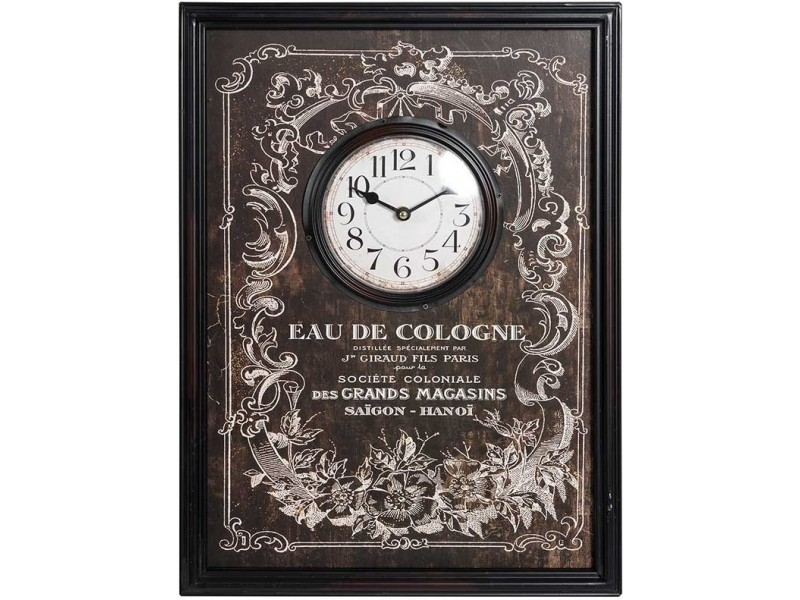 Vintage Zegar EAU De Cologne
