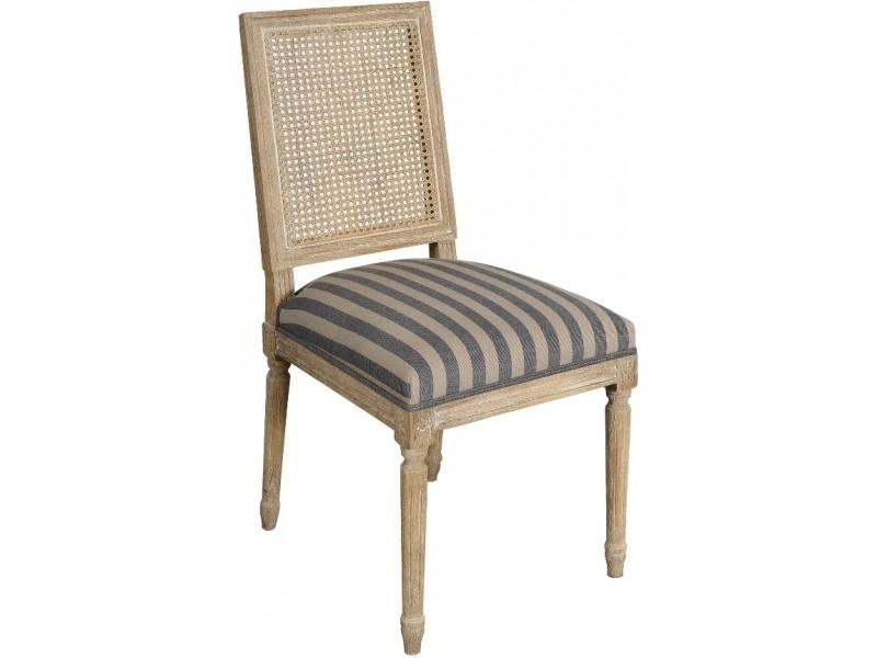 Classic Krzesło proste (oparcie rattan)
