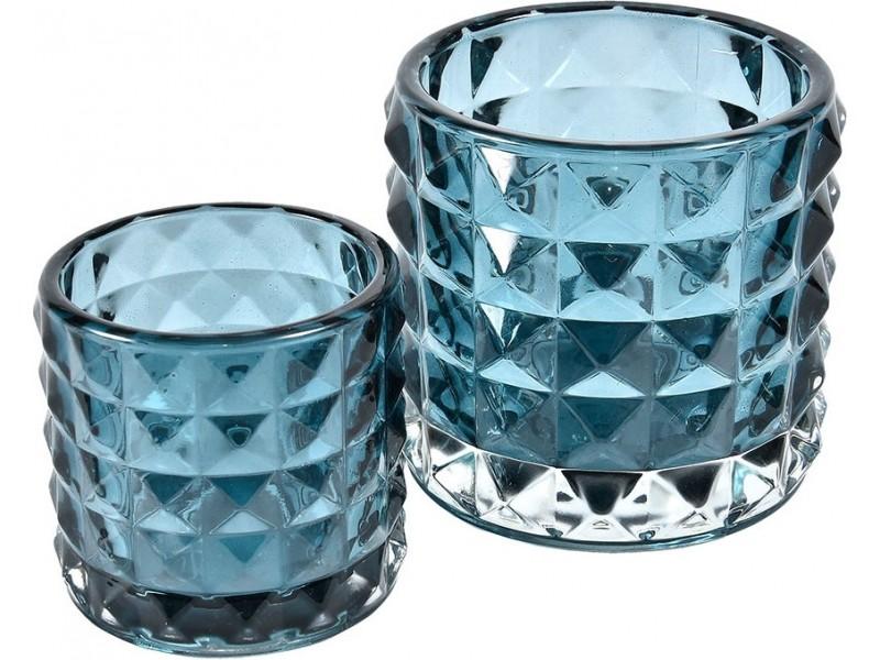 Świetlik Szklany Spring Niebieski 2B