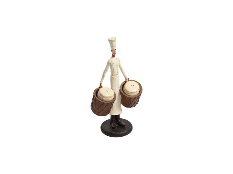 Figurka Kucharz Nicea sól/pieprz