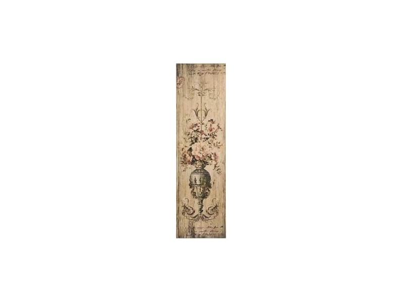 Obraz na desce Vintage Barok Róże 1