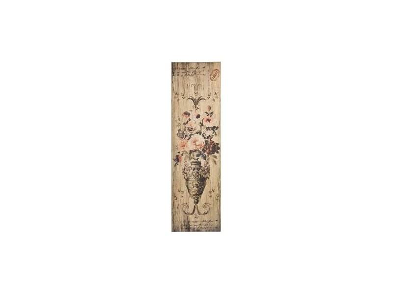 Obraz na desce Vintage Barok Róże 2