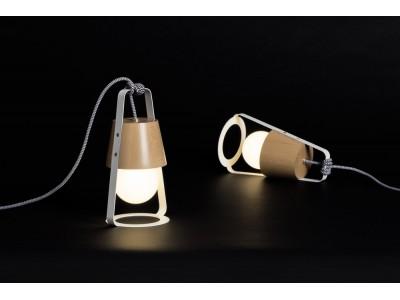 Lampa Skandynawska Latarnia HOP Design Biała