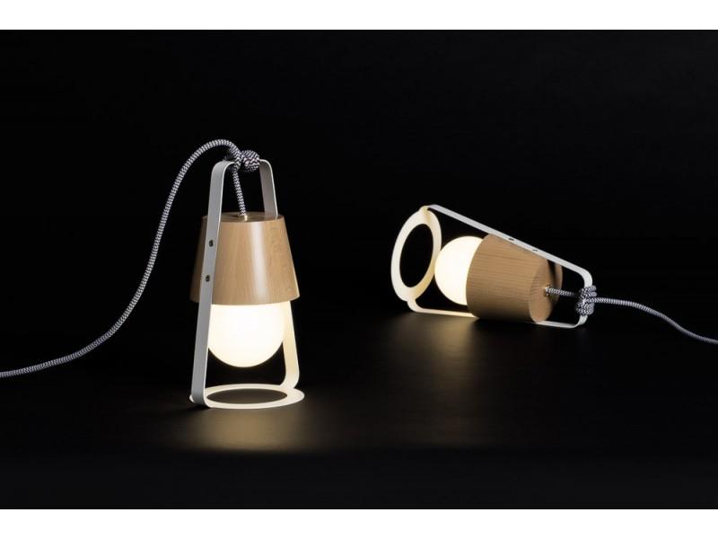 Lampa Latarnia - biała