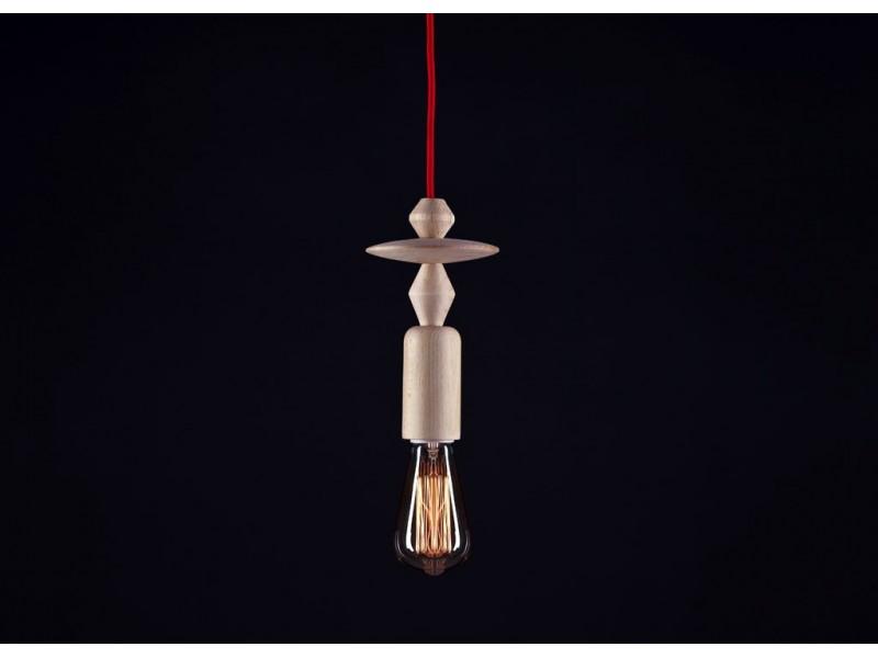 Lampa Sufitowa Drewniana Totem 4