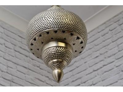 Lampa sufitowa srebrna Tyre Lamp