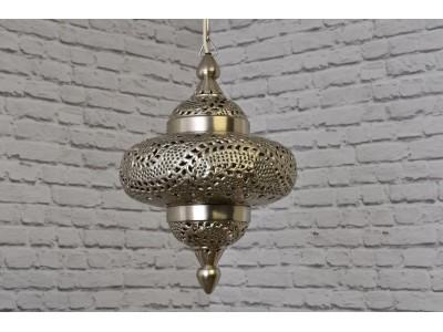 Lampa sufitowa orientalna srebrna Tyre New Lamp