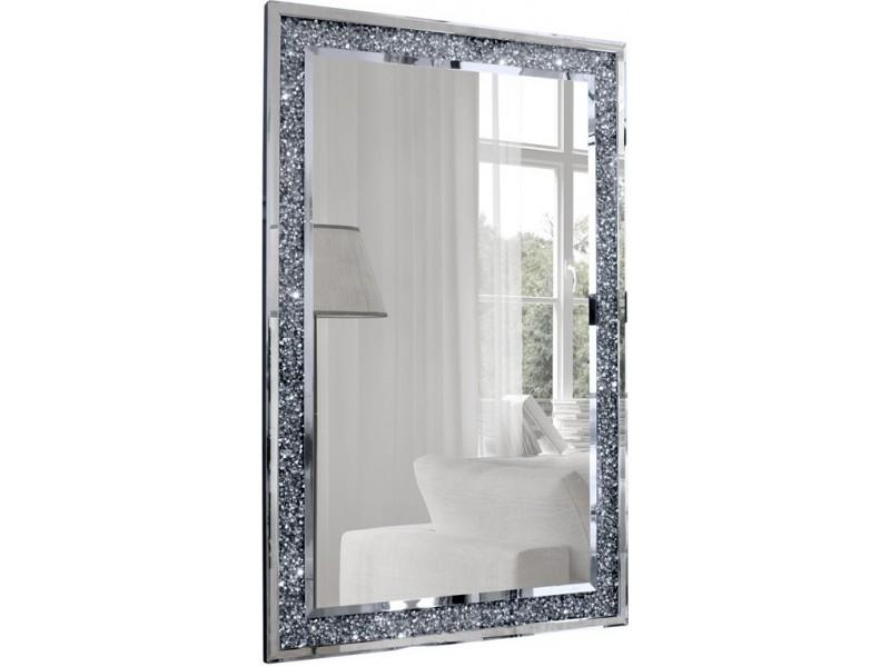 Lustro Glamour Nowoczesne Beretti 2 120x80 cm