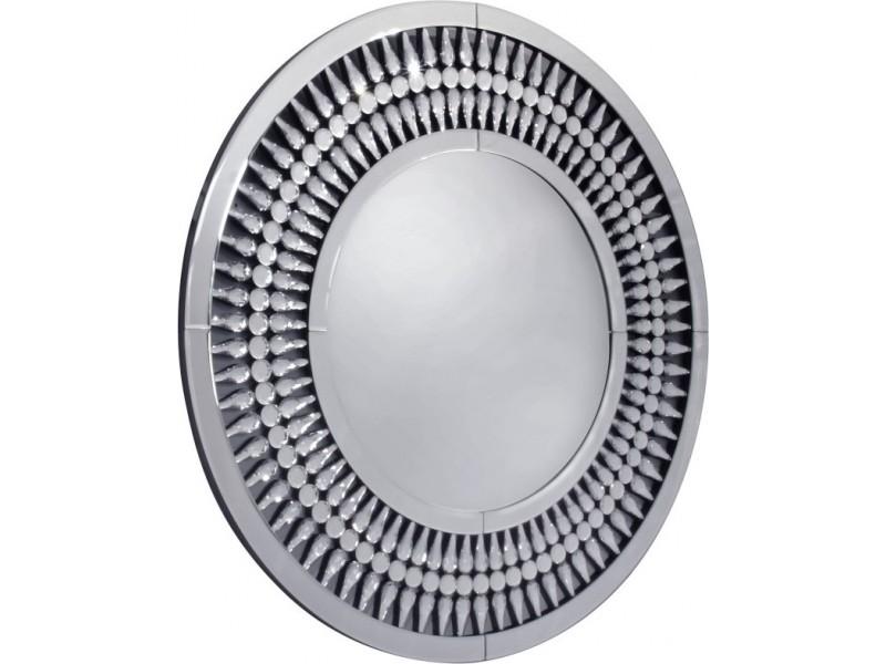 Marzano- okrągłe dekoracyjne lustro 90x90 cm