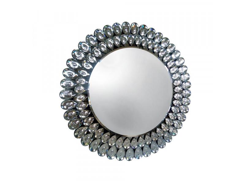Crystal - nowoczesne okrągłe lustro