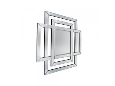 Zita 2 - kwadratowe lustro w nowoczesnym obramowaniu.