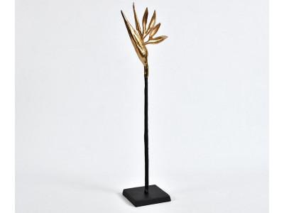 Etno Figurka Rajski ptak złoty