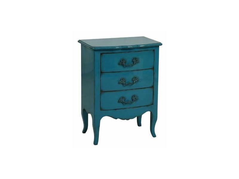 Classic Eclectic Komoda wąska 1 blue