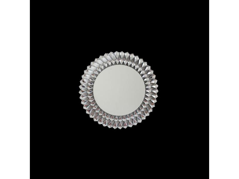 Marsylia- okrągłe dekoracyjne lustro 80x80 cm