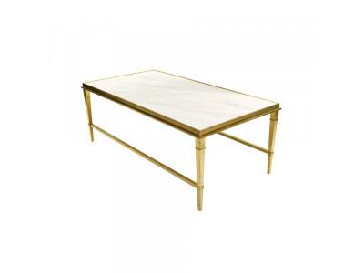 Stół kawowy Ekskluzywny gold/white