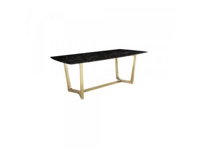 Stół jadalniany Ekskluzywny gold/brown 200x100