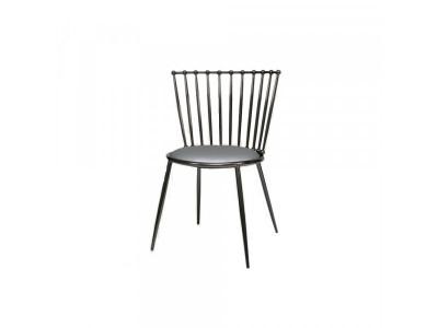 Krzesło jadalniane Glamour silver/grey