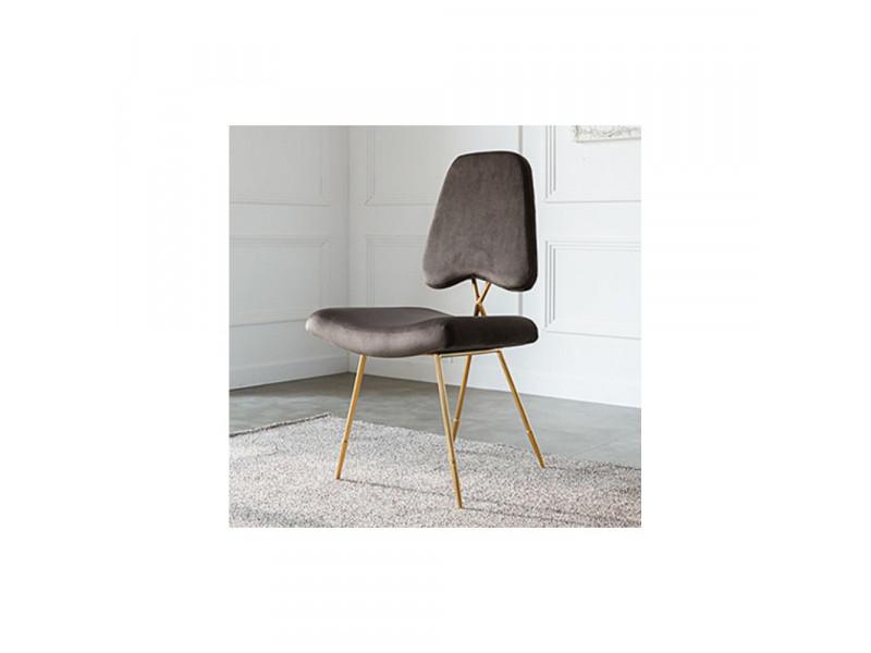 Krzesło barowe Ekskluzywne gold/brown