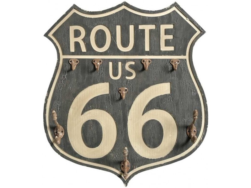 Loft Tabliczka Route 66