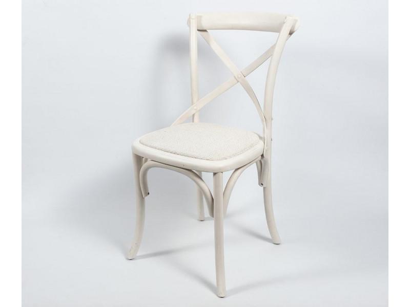 Bari Krzesło białe 1