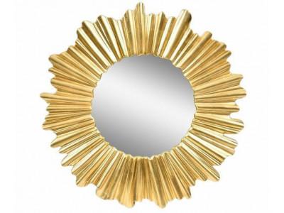 Gold line Lustro słońce