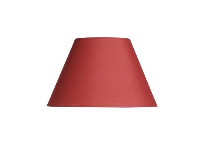 Abażur stożek czerwony ( duzy)