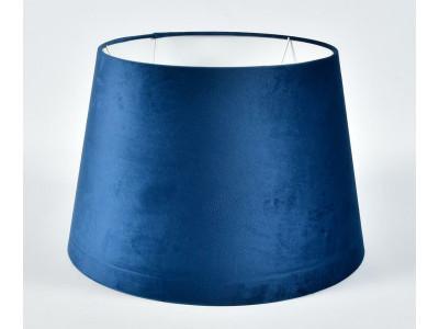 Abażur A45/35H30 stożek plusz niebieski