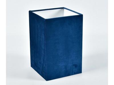 Abażur A18H28 kwadrat plusz niebieski