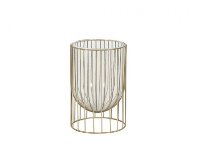 Gold line lampion metal B
