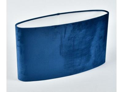 Abażur A43/12H25 elipsa plusz niebieski