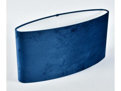 Abażur A50/15H25 elipsa plusz niebieski