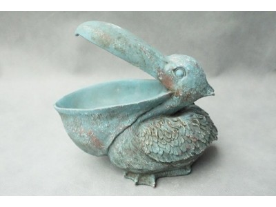 Azzurro Old Dekoracja pelikan