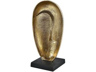 Deluxe gold Figurka twarz
