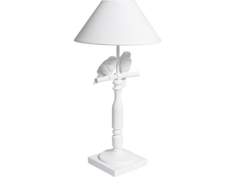 Romantic Lampa z ptaszkami