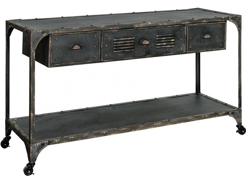 Loft Komoda szuflady+półka 1