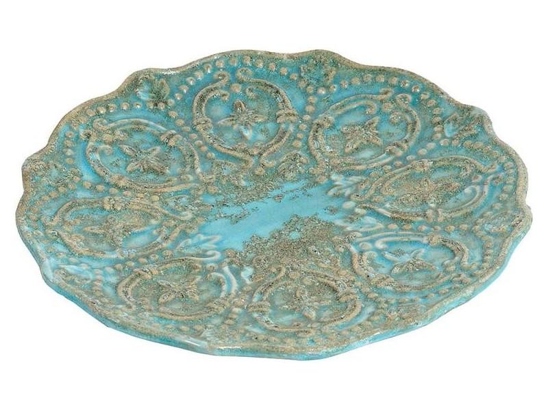 Patera Ceramiczna Azzurro Old