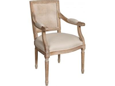 Classic Krzesło proste z podłokietnikiem