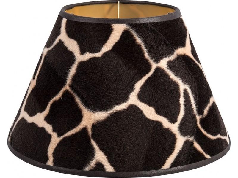 Abażur stożek żyrafa